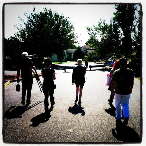 Last shot wrapped! On to post! #48hfp  (Taken with Instagram at Mt. Tabor Park)