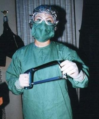 Bizarre surgical nurse