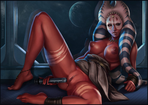 A very yummy submission from: http://starwarsfansunite.tumblr.com/ sexy lady