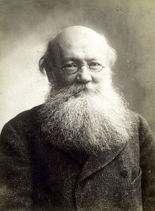 "Peter Kropotkin, the Anarchist Prince (he was actually a 'prince' by blood, but rejected the title) ""In his book Mutual Aid: A Factor of Evolution, Kropotkin explored the widespread use of cooperation as a survival mechanism in human societies through their many stages, and animals. He used many real life examples in an attempt to show that the main factor in facilitating evolution is cooperation between individuals in free-associated societies and groups, without central control, authority or compulsion. This was in order to counteract the conception of fierce competition as the core of evolution, that provided a rationalization for the dominant political, economic and social theories of the time; and the prevalent interpretations of Darwinism."""