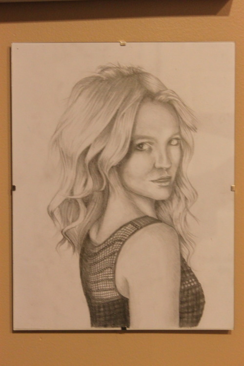 Other Britney drawing that Im crazy proud of, I think I might have posted it before :P