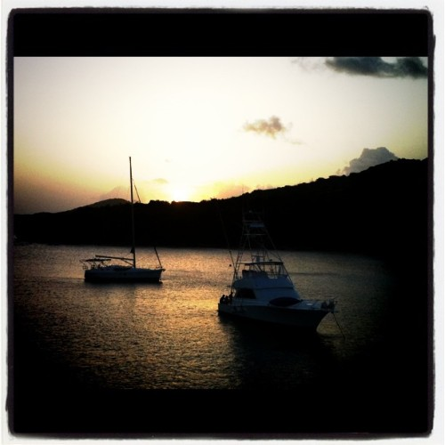Atardecer @ Culebra (Taken with instagram)