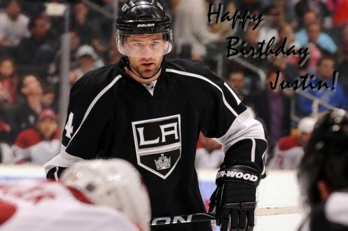 thelosangeleskings:  Happy 30th Birthday Justin Williams!
