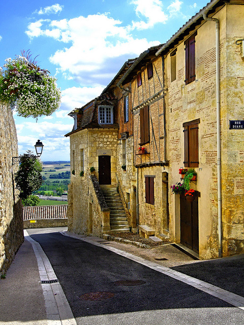 | ♕ |  Beau village Lectoure - Midi-Pyrenees, France  |  by Vaxjo