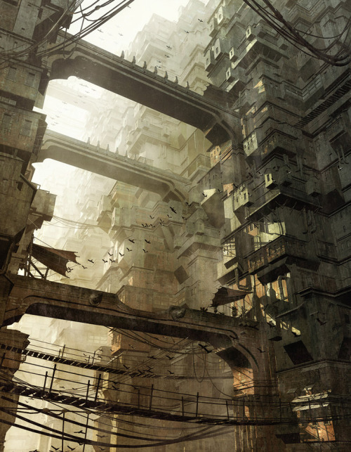 This is how I see Hong Kong in 200 years (via Stefan Morrell // DIGITAL ART & DESIGN)