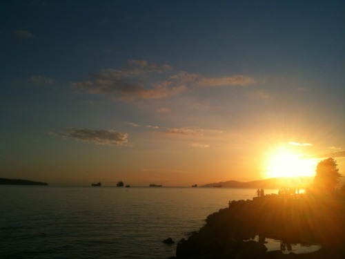 Another English Bay sunset.