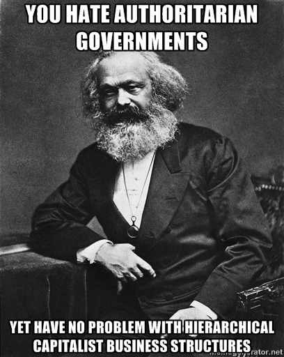 cognitivedissonance:  Funny that…  More of yesterday's Karl Marx meme…