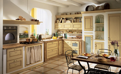 Mediterranean style! Loving that gorgeous looking oven :)
