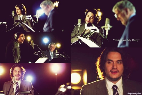 ivegotacitylove:  My favorite scenes of John on Tony Bennett: Duets II sneak peek video.