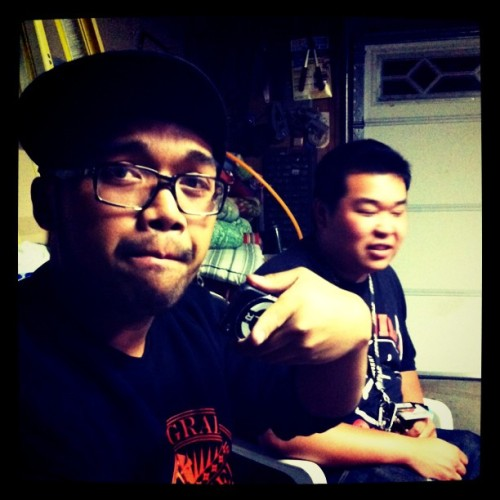 chillen with @elwinderzoid  (Taken with instagram)