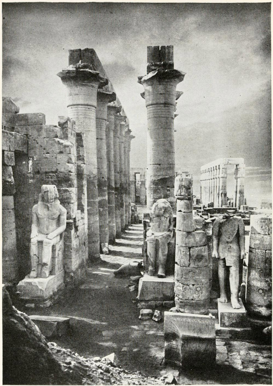 The Temple of Amon, Luxor