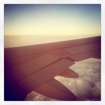 #clouds #plane #morning  (Taken with instagram)