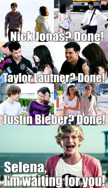 i kinda like selena gomez, but this is funny