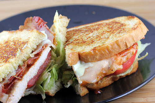 BBQ Chicken BLT Sandwich