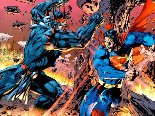 deanleong:  Superman Vs. Zod by Jim Lee