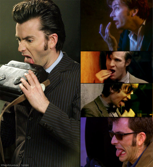 littlebitbluebox:  sexually frustrating Doctor Who things → The Doctor's oral fixation  Yeah girl. Holla.