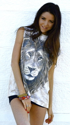 Aley Greenblo- Vintage Tiger Top