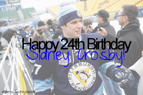 allthings-hockey:  Happy Birthday Sid! :)