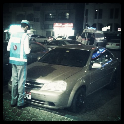 Don't forget to pay ur parkings #Abudhabi (Taken with Instagram at Golden Tower (Golden EY Crew Accomodation))