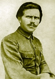 "r-i-o-t:   Nestor Ivanovych Makhno or simply Daddy Makhno October 26 1888 – July 6, 1934) was a Ukrainian anarcho-communist guerrilla leader turned army commander who led an independent anarchist army in Ukraine during the Russian Civil War. A commander of the peasant Revolutionary Insurrectionary Army of Ukraine, also known as the Anarchist Black Army, Makhno led a guerrilla campaign during the Russian Civil War. He supported the Bolsheviks, the Ukrainian Directory, the Bolsheviks again, and then turned to organizing the Free Territory of Ukraine, an anarchist society, committed to resisting state authority, whether capitalist or communist. This project was cut short by the consolidation of Bolshevik power. Makhno was described by anarchist theorist Emma Goldman as ""an extraordinary figure"" leading a revolutionary peasants' movement. He is also credited as the inventor of the tachanka, a horse-drawn platform mounting a heavy machine gun.  Read more…"