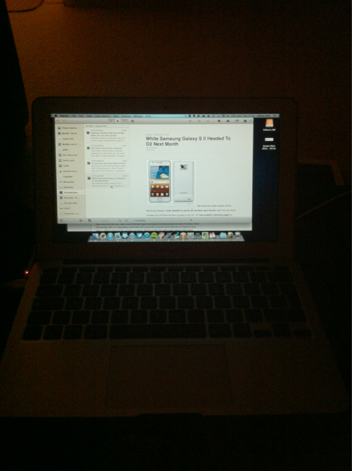 This is why MacBook Airs with backlit keyboards are a good idea.