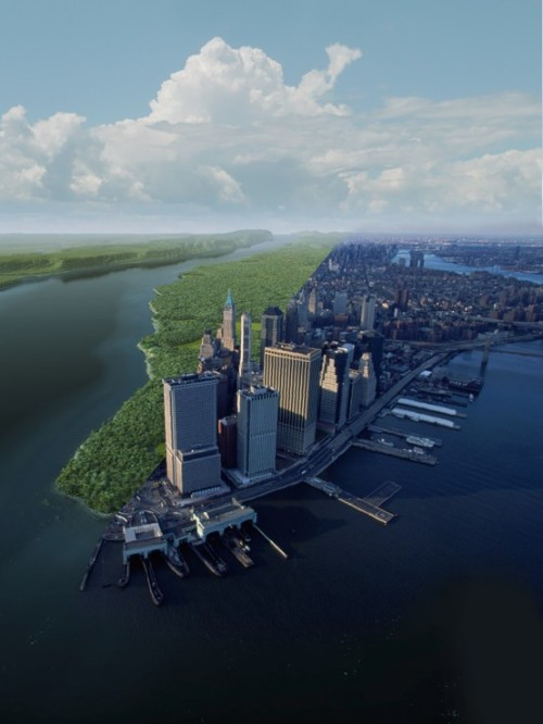 ysvoice:  | ♕ |  NYC, Then and Now  | by NPS.gov | via justcallmegrace | blognfool