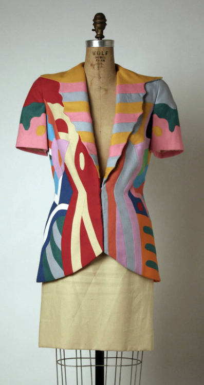 1990s suit via The Costume Institute of the Metropolitan Museum of Art
