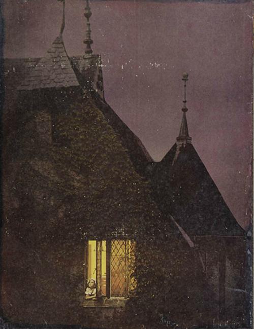 La Croisee de l'enfant aux Yeux a Larmes de Chatte, 1962 by Joseph Cornell