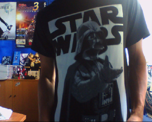 Finally got me a Star Wars shirt :D. Jealous @cjislegit is I am betting.