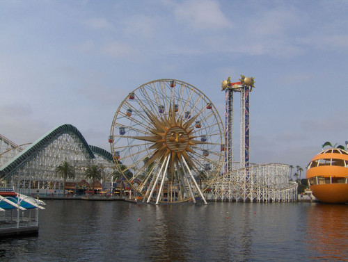 Paradise Pier on Flickr.Via Flickr: California Screamin', Sunwheel, Maliboomer, Orange Stinger. Remembering rides of the past.