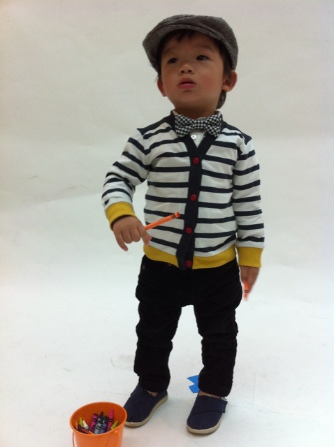 Baby Keanu Brian and his #babyswag made it to the @FiveFour kids launch. Check out his fresh threads  http://lockerz.com/s/127248467 and Five Four's new kids line