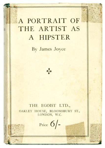 markmcevoy:  mark mcevoy HIPSTER, 2011 altered book