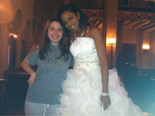 Pretty bride at the Roosevelt hotel. I was in pjs so people think I'm staying there. Really just there for the burger bar and the hot chicks. This bride is beautiful.