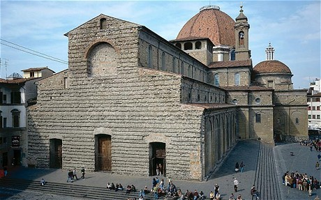 Italy: Michelangelo's San Lorenzo Basilica exterior could be revived Nearly 500 years after Florence ditched Michelangelo's grand design for the exterior of San Lorenzo Basilica, the city's mayor wants to finally realise the artist's vision (via The Telegraph)