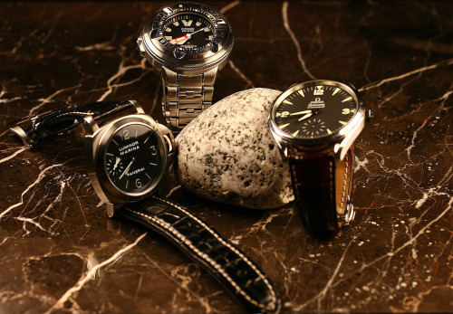 Omega, Panerai, Citizen