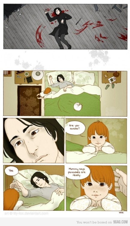 Harry Potter Alternate ending for Snape Lovers!