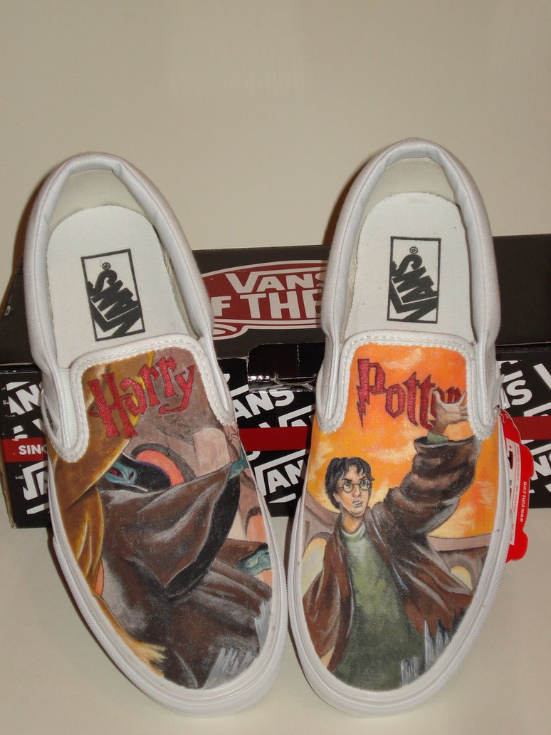 Harry Potter shoes by PhoenixBlood08 on deviantART
