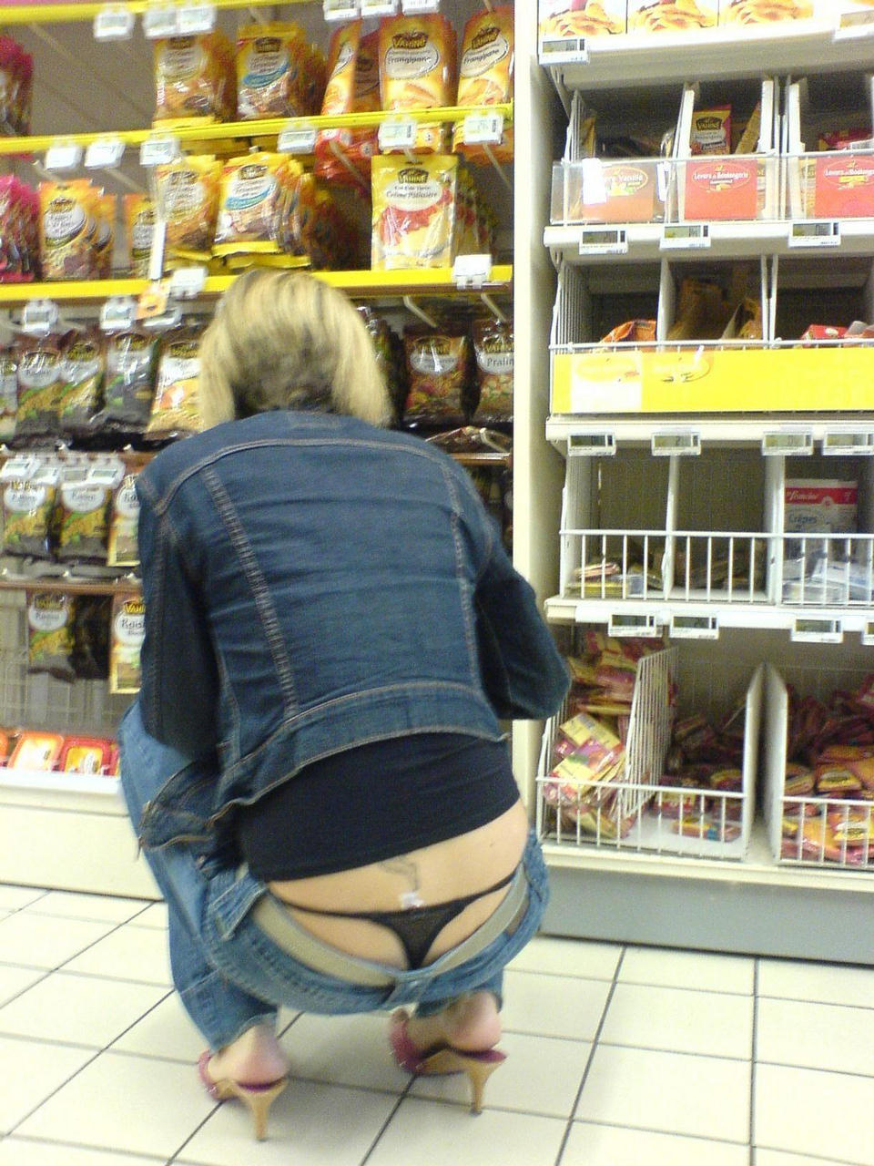 This is why grocers put the good stuff on the bottom shelf …