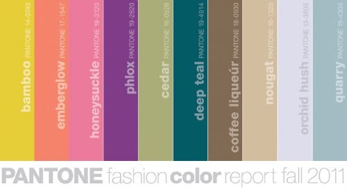fall 2011 pantone colors