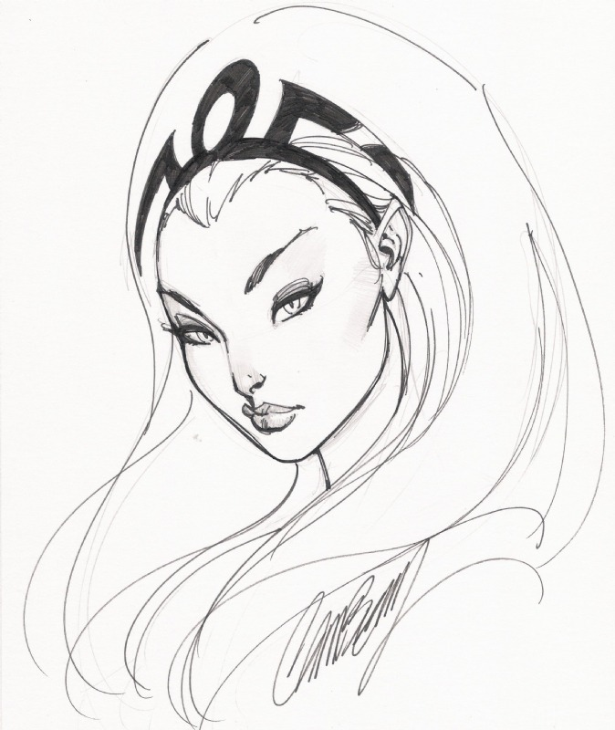 comicartappreciation:  Storm // J. Scott Campbell