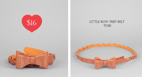 Little Bow Peep belt Tobi