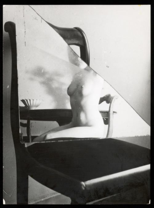 Broken mirror nude, 1953-55 by Esther Elenbaas-de Hartog [wife of Wally Elenbaas]