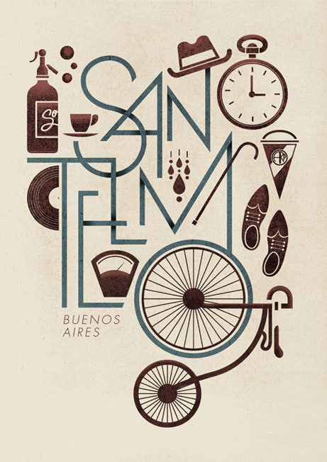weandthecolor:  Typographic artwork by Jorge Lawerta. More graphic design inspiration. posted byW.A.T.C. // Facebook // Twitter // Google+