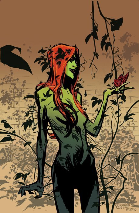 dollabeels:  Poison Ivy by Chris Brunner