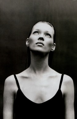 Kate Moss by Patrick Demarchelier for Harper's Bazaar.