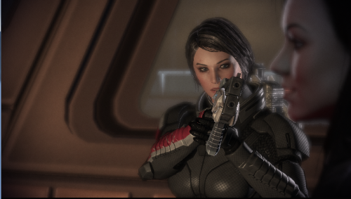 FemShep was not amused I guess… pinkeurocket:  This still amuses me. :3