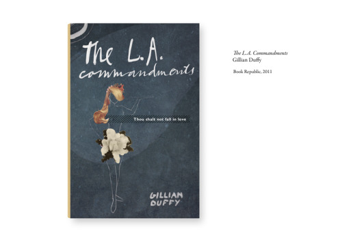 An alternative cover from our designer, Jana, for the LA Commandments by Gillian Duffy, which has just been released as an ebook on Kindle.