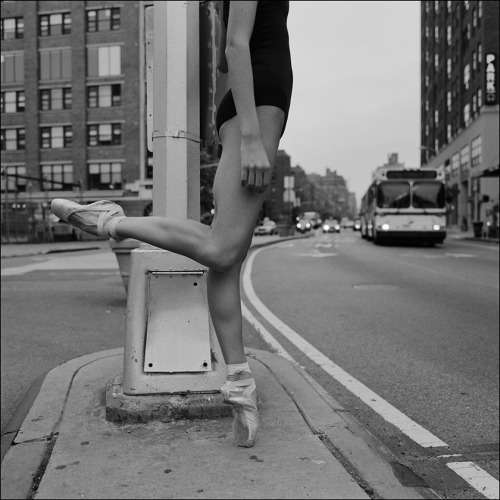 "ballerinaproject:  Alys - 9th Avenue Become a fan of the Ballerina Project on Facebook. Please vote for the Ballerina Project in the ""One Life"" photography competition. Check out the new Ballerina Project blog."