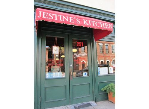 Jestine's Kitchen in Charleston, NC. (I can't post pictures of the food b/c they all came out horribly, but I HIGHLY recommend eating here for any and all soul food!) 06.09.2010
