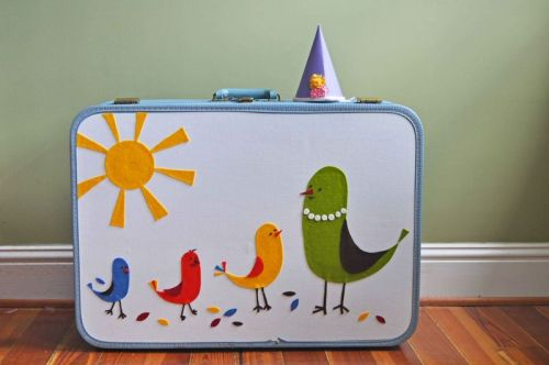 beeperbebe:  Making a Dress Up Suitcase  from Curly Birds